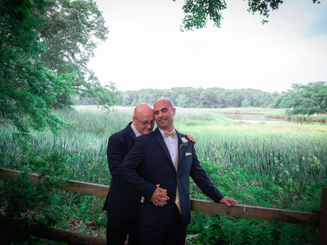 The wedding of Steven and Patrick