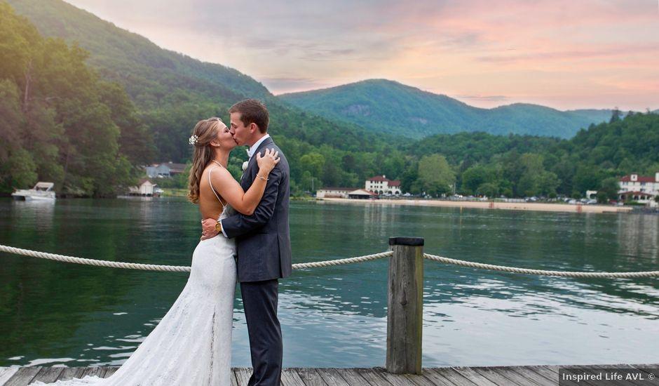 Jake and Demi's Wedding in Lake Lure, North Carolina