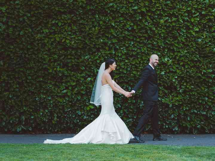 The wedding of Stacy and Leon