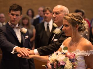 The wedding of Lisa and Scott 1
