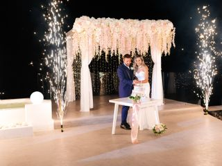 The wedding of Karyna and Glen 1