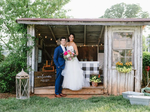 The wedding of Brandi and Hunter