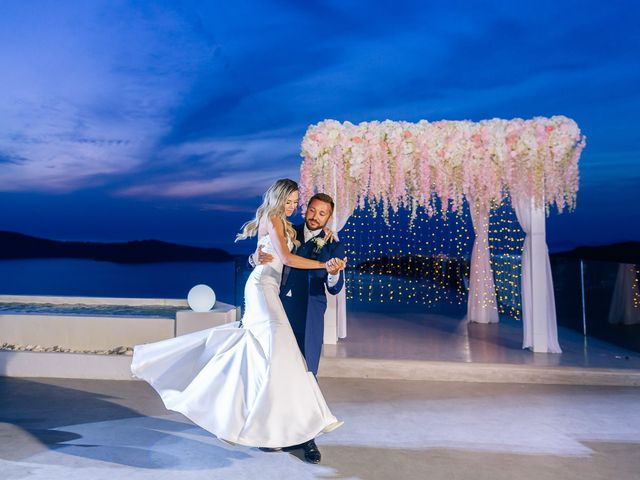Glen and Karyna's Wedding in Santorini, Greece 7