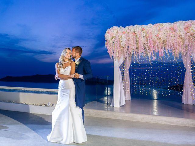 Glen and Karyna's Wedding in Santorini, Greece 8