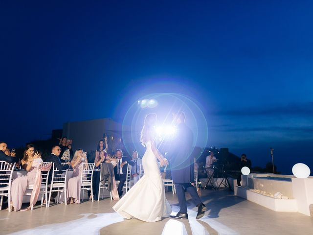 Glen and Karyna's Wedding in Santorini, Greece 9