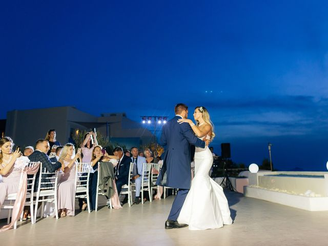 Glen and Karyna's Wedding in Santorini, Greece 10