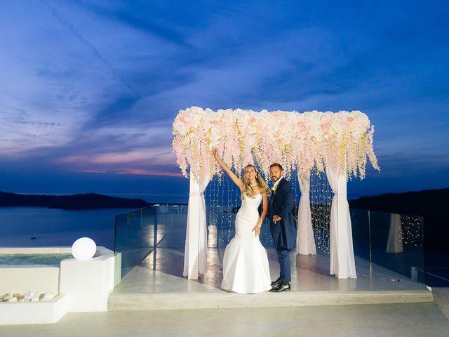 Glen and Karyna's Wedding in Santorini, Greece 11
