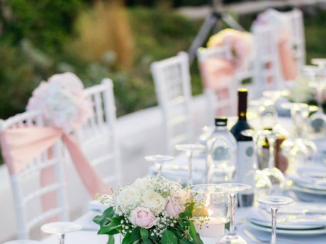 Glen and Karyna's Wedding in Santorini, Greece 12