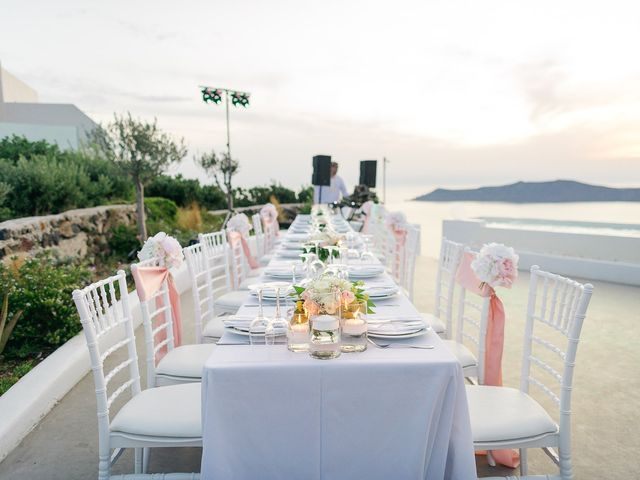 Glen and Karyna's Wedding in Santorini, Greece 13