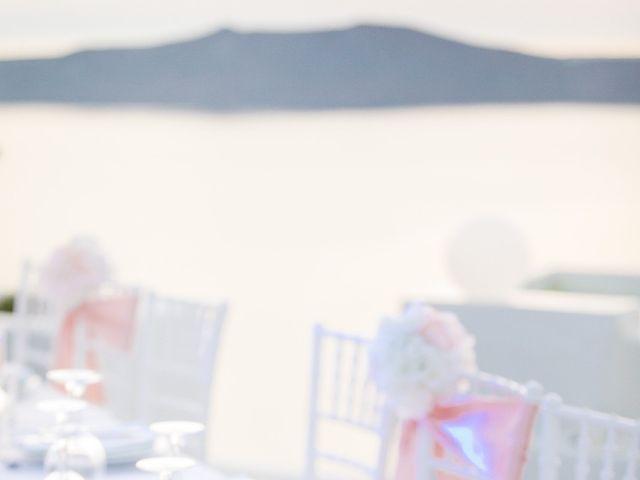 Glen and Karyna's Wedding in Santorini, Greece 15