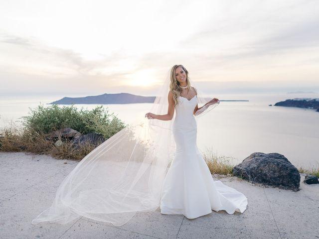 Glen and Karyna's Wedding in Santorini, Greece 18