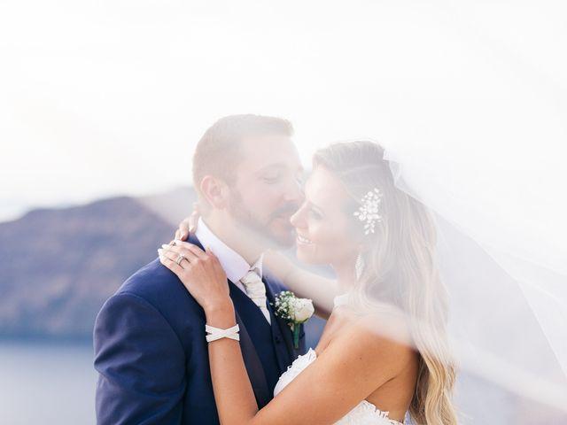 Glen and Karyna's Wedding in Santorini, Greece 20