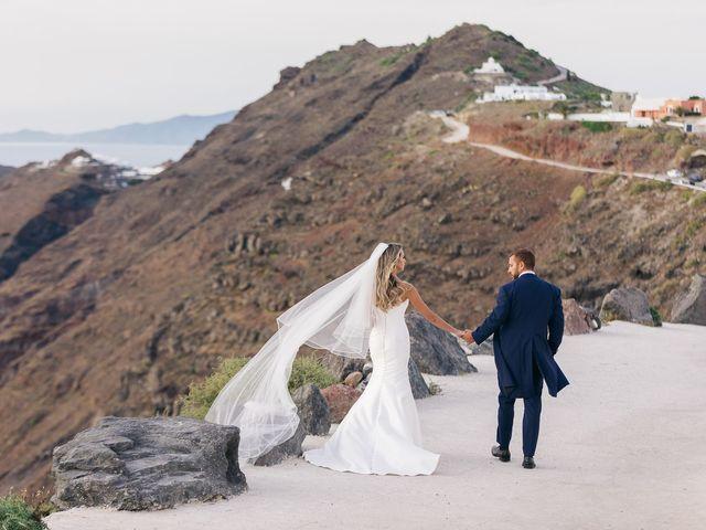 Glen and Karyna's Wedding in Santorini, Greece 23