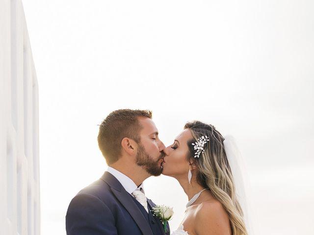 Glen and Karyna's Wedding in Santorini, Greece 25
