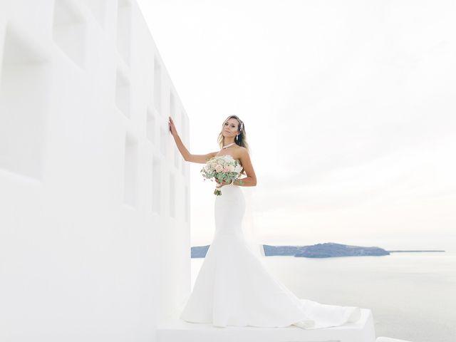 Glen and Karyna's Wedding in Santorini, Greece 27