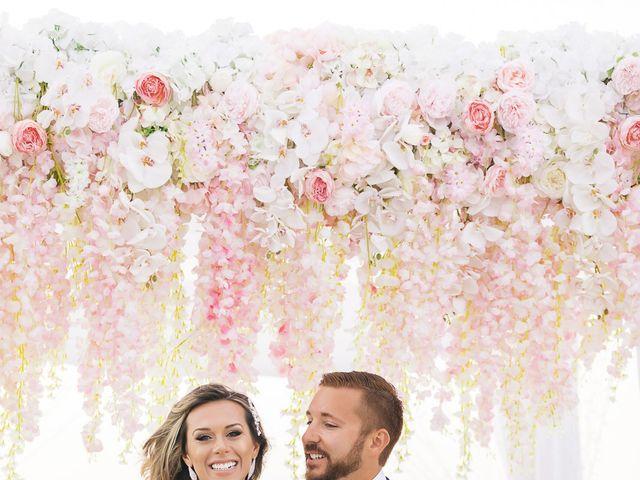 Glen and Karyna's Wedding in Santorini, Greece 28
