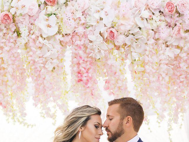 Glen and Karyna's Wedding in Santorini, Greece 30