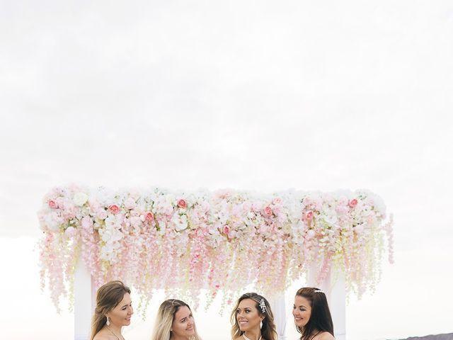 Glen and Karyna's Wedding in Santorini, Greece 34