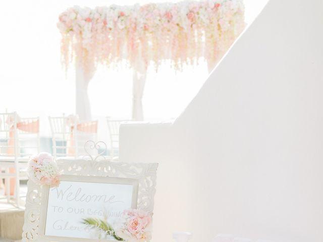 Glen and Karyna's Wedding in Santorini, Greece 45