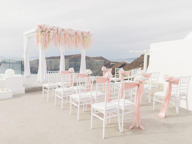 Glen and Karyna's Wedding in Santorini, Greece 46
