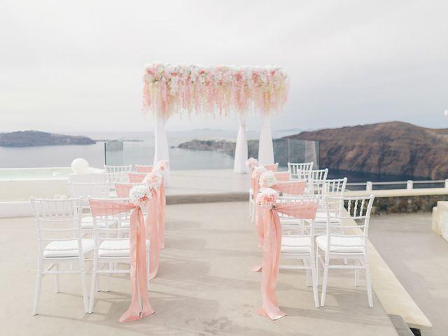 Glen and Karyna's Wedding in Santorini, Greece 50