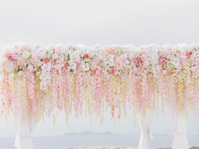 Glen and Karyna's Wedding in Santorini, Greece 51