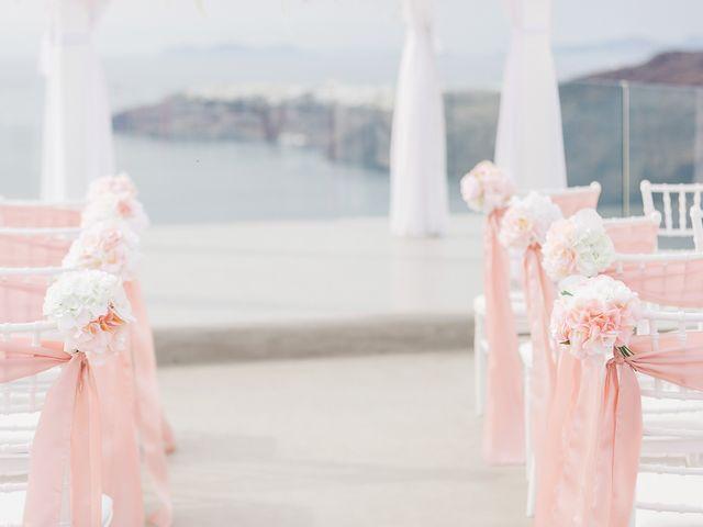 Glen and Karyna's Wedding in Santorini, Greece 52