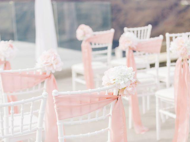 Glen and Karyna's Wedding in Santorini, Greece 53