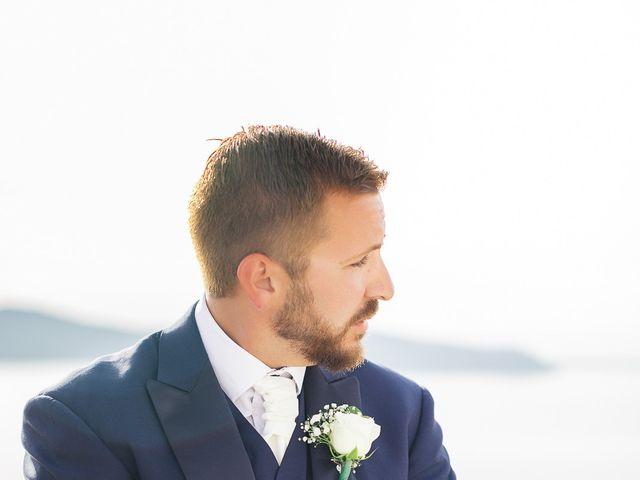 Glen and Karyna's Wedding in Santorini, Greece 55