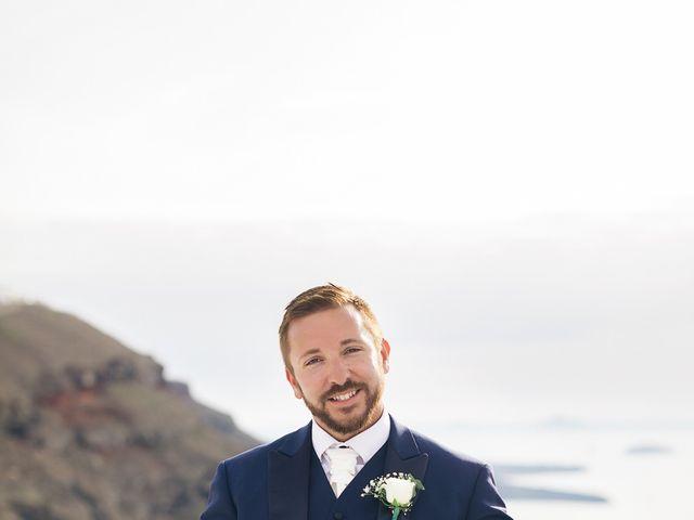 Glen and Karyna's Wedding in Santorini, Greece 57
