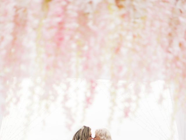 Glen and Karyna's Wedding in Santorini, Greece 77