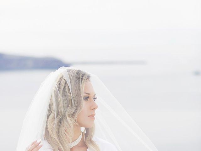 Glen and Karyna's Wedding in Santorini, Greece 86