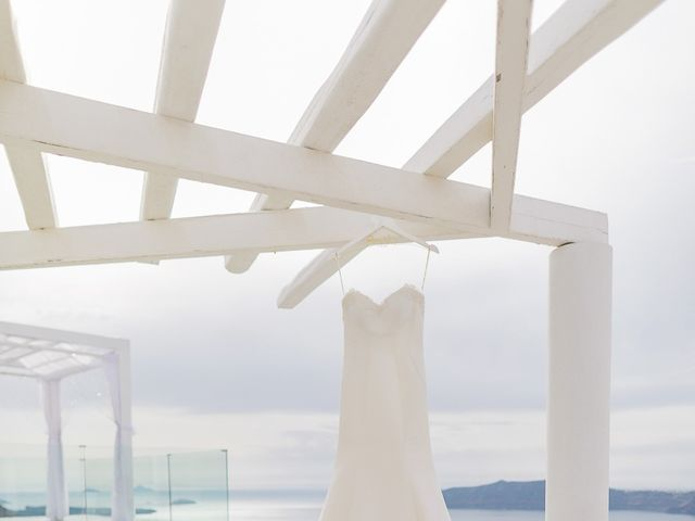 Glen and Karyna's Wedding in Santorini, Greece 93