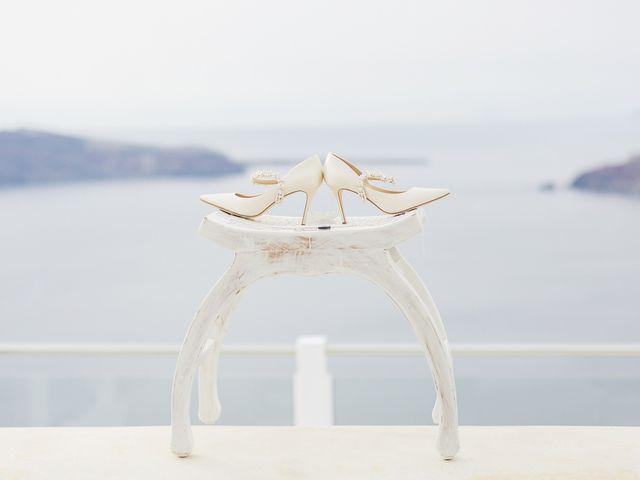 Glen and Karyna's Wedding in Santorini, Greece 96