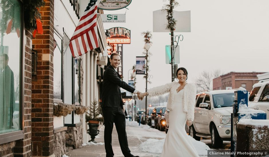 Cailey and Aaron's Wedding in Stillwater, Minnesota