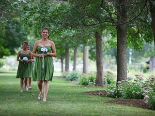 The wedding of Liz and Tom 1