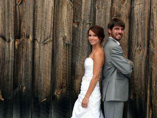 The wedding of Liz and Tom