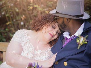 The wedding of Marissa and Damon 1
