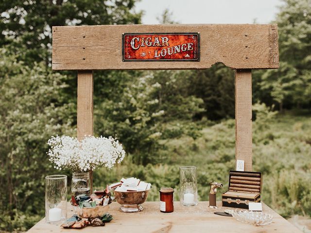 Kyle and Taylor's Wedding in Long Eddy, New York 1