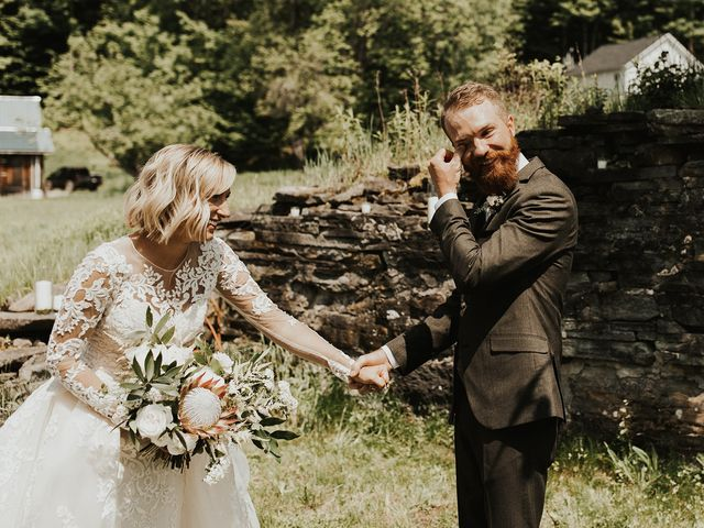 Kyle and Taylor's Wedding in Long Eddy, New York 21