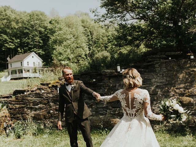 Kyle and Taylor's Wedding in Long Eddy, New York 22