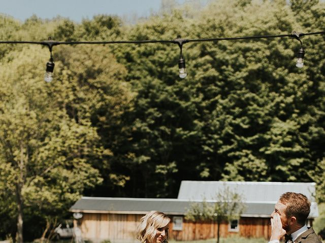 Kyle and Taylor's Wedding in Long Eddy, New York 23