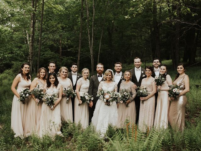 Kyle and Taylor's Wedding in Long Eddy, New York 29