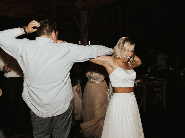 Kyle and Taylor's Wedding in Long Eddy, New York 36