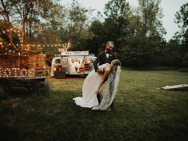 Kyle and Taylor's Wedding in Long Eddy, New York 39