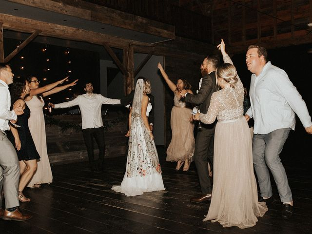 Kyle and Taylor's Wedding in Long Eddy, New York 42