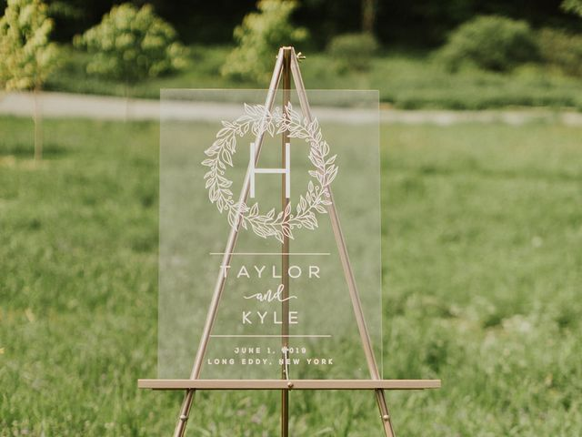 Kyle and Taylor's Wedding in Long Eddy, New York 49