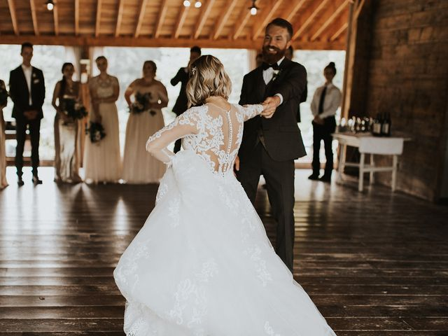 Kyle and Taylor's Wedding in Long Eddy, New York 52