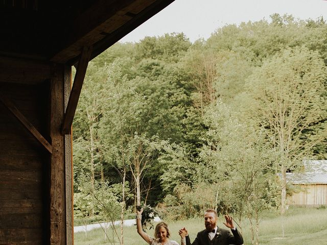 Kyle and Taylor's Wedding in Long Eddy, New York 54