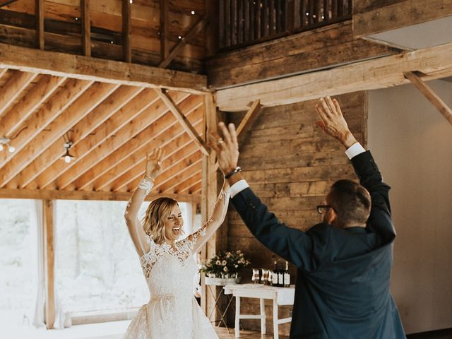 Kyle and Taylor's Wedding in Long Eddy, New York 59